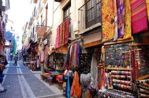 Barrio de las Teterías Granada