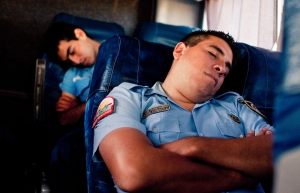 siesta-police el guarda